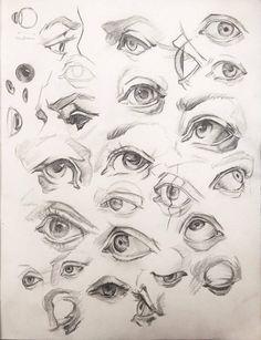 Eyes studies by anavitil face drawing в 2019 г. Eye Anatomy, Anatomy Art, Anatomy Drawing, Anatomy For Artists, Pencil Art Drawings, Art Drawings Sketches, Realistic Drawings, Eye Drawings, Sketches Of Eyes