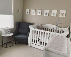 Unsure if you're having a little girl or boy but want to get ahead with decorating the nursery? Here's a beautiful example of a neutral nursery from Safari Nursery, Baby Boy Rooms, Nursery Inspiration, Nursery Neutral, Nursery Design, Cribs, Little Girls, Bed, Australia
