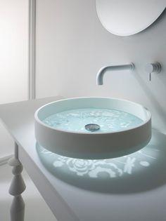 20 interesantes y creativas modernos lavamanos Baño - Top Inspiraciones