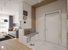 Mieszkanie Bemowo - Hol / przedpokój, styl nowoczesny - zdjęcie od Kameleon - Kreatywne Studio Projektowania Wnętrz