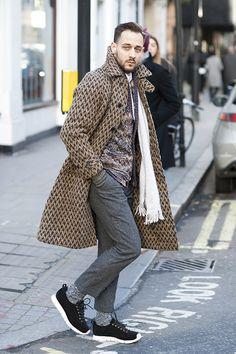 Dressed Men of London Fashion Week
