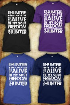 Hunting Freedom T Shirt, Hunting T Shirts . Don't worry BUY SAFE BY TRUSTED SELLER