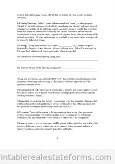 Sample Printable Move In Move Out Inspection Report Form
