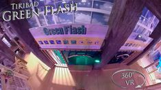 Tikibad 2019 Green Flash 360° VR POV Onride Vr, Green