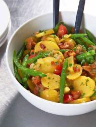 Kartoffelsalat -recette de Kartoffelsalat - Cahier de cuisine