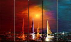 Oil painting on canvas!