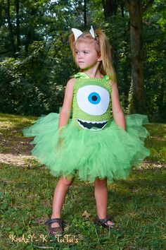 Monsters Inc Costume by Krazyktutus21 on Etsy, $42.00
