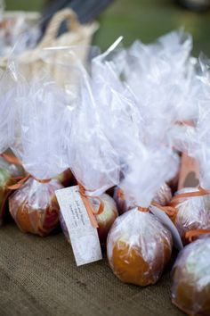 Candy Apple Wedding Favor