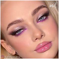 Cute Eye Makeup, Eye Makeup Steps, Gorgeous Makeup, Makeup Tips, Beauty Makeup, Makeup Looks, Hair Makeup, Dark Skin Makeup, Makeup For Green Eyes