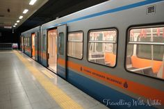 How to Get From Istanbul Airport to Sultanahmet by Train | Travelling With Nikki