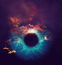 "Spiritual Awakening ""Passing of an eclipse by Miss Aniela,"" via Flickr"
