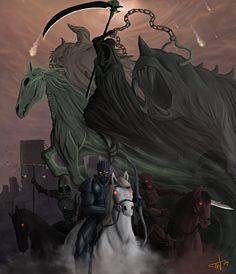 Horsemen of the Apocalypse by thomaswievegg on deviantART