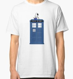 Snoopy Doctor Who by CeaserTee