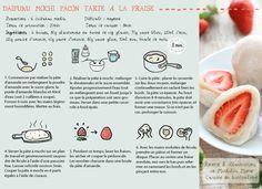 mochi amande recette