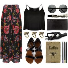 Say a little prayer for you by ctodtims on Polyvore featuring Topshop, Alexander Wang, House of Harlow 1960, NARS Cosmetics, Aesop and Chiasso