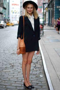 NEUER Blazer style blogger Gr. 34 in schwarz