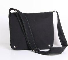 Messenger Bag sholder bag square messenger bag Dark by sineminugur, $38.00