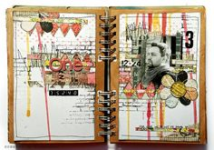 sketchbook/art journal/page
