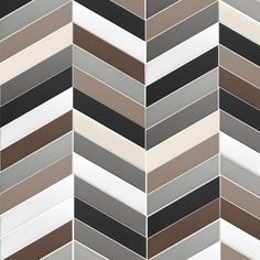 Tonalite collezione Arrow 23x5 7 colori lucidi e 7 colori matt. Posa a lisca di pesce. Chevron, tiles, piastrelle, ceramiche, ceramica, walltiles, floortiles, rivestimento, pavimento zig zag