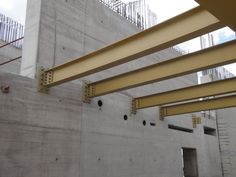Image result for concrete building with steel structure