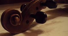 What a beautiful piece of art is the violin itself, right?