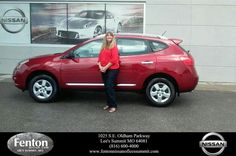 Congratulations to Lori Bourland on your new #Nissan #Murano from Tony Shuff at Fenton Nissan of Lee's Summit!