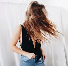 Bodysuit + jeans = our go-to #ootd