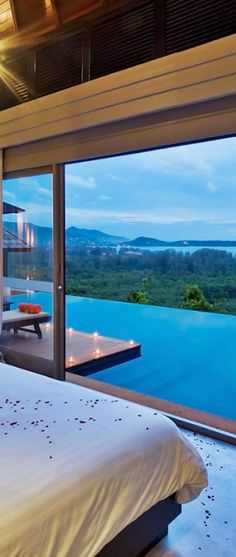 The Pavilions in Phuket, Thailand.  SO romantic.  ASPEN CREEK TRAVEL - karen@aspencreektravel.com