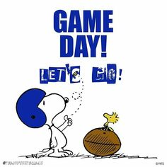 Let's go! Charlie Brown Football, Charlie Brown And Snoopy, Funny Day Quotes, Cute Quotes, Snoopy Love, Snoopy And Woodstock, Peanuts Quotes, Football Images, Happy Images