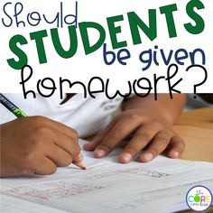 Should students be given homework? opinion writing prompt. Writing is a breeze with these paired texts lesson plans.