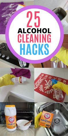 Rubbing alcohol is an awesome cleaning product for every home! It has plenty of household uses when it comes to cleaning and disinfecting. It can be used to disinfect your toilet seat, door knob and remove sticky residues in the bathroom. Here are 25 amazing ways to use rubbing alcohol at home, read the blog to learn all the cleaning tips and tricks! #homewhis #cleaninghacks #cleaningtips #cleaningideas #rubbingalcohol #rubbingalcoholuses Cleaning Paint Brushes, Cleaning Spray, Cleaning Recipes, Diy Cleaning Products, Cleaning Tips, Rubbing Alcohol Uses, Remove Sticky Residue, Clean Window Blinds, Fels Naptha