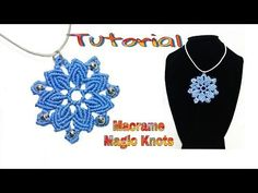 (1) Macrame Mandala Flower Tutorial ♥ MAGIC KNOTS ♥ - YouTube