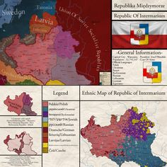 The Republic Of Intermarium - Pilsudski's Dream by OrbisRyu on DeviantArt Fantasy City, Fantasy Map, Poland Map, Thanks For The Compliment, Imaginary Maps, Polish Names, Alternate History, Historical Maps, Europe