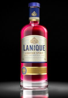 Lanique Liqueur recently redesigned by Claessens International