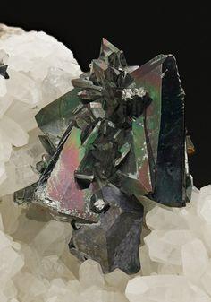 Tetrahedrite from Peru.