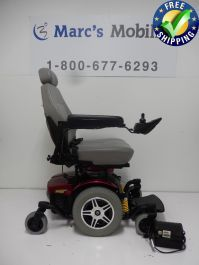 The Pride Jazzy 614 Power Wheelchair features a 300 pound weight capacity and dual enhanced in-line motors for greater efficiency, torque, range and performance. Powered Wheelchair, Types Of Flooring, Back Seat, 1 Month, Motors, Shark, Baby Strollers, Pride, Range