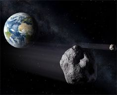 Scientists are keeping a close eye on a big asteroid that may pose an impact threat to Earth in a few decades.