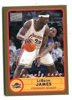 ca88f3229a5f 2003-04 Bazooka  223 LeBron James Rookie Parallel Cavaliers