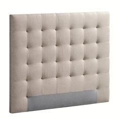 Tête de lit capitonnée Selve, H120 cm AM.PM : prix, avis & notation, livraison.  La tête de lit Selve. Le chic absolu d'une tête de lit haute et capitonnée, qui donnera un style cosy à votre chambre. Revêtement :- 100% lin (100% polyester pour le coloris anthracite chiné).Confort :- Garnissage mousse de polyéther, densité 22 kg/m³, polyester 300 g/m². Caractéristiques :- Structure en pin massif.- À poser contre un mur a...