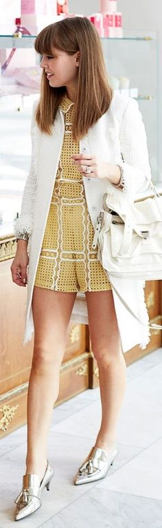 ALICE MCCALL ROMPER | ST. JOHN JACKET | COACH SHOES | PROENZA SCHOULER BAG  9 || Spring Essentials || Margo and Me #alice