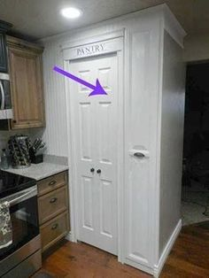 Your tiny pantry and kitchen is no match for these ideas   diy home decor   diy pantry space hack   #diy #homedecor #pantryorganization   sponsored