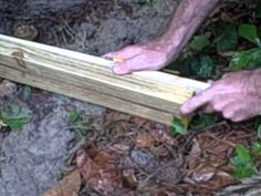 Carpentry Tips: Accurate Measuring without a tape or math; how to level a board
