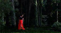 #girl#red#beautiful