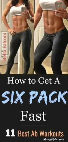 to Get a Six Pack. 11 Best Ab Workouts to 6 Pack in a Week at Home. We want abs. Not just abs, a six pack abs. Intense exercises that focus on the abdominals are one of the most popular amongst fitness enthusiasts. This article compiles some of them. Fitness Workouts, Abb Workouts, Lower Ab Workouts, Abs Workout Routines, At Home Workouts, Fitness Abs, Most Effective Ab Workouts, Killer Ab Workouts, Great Ab Workouts