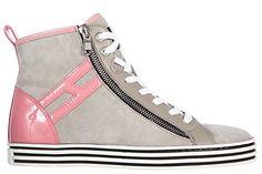 Hogan Rebel scarpe sneakers alte donna in camoscio nuove r182 rebel vintage grigio EU 40 HXW1820Q9808KH225M in OFFERTA su www.kellieshop.com Scarpe, borse, accessori, intimo, gioielli e molto altro.. scopri migliaia di articoli firmati con prezzi in SALDO #kellieshop Seguici su Facebook > https://www.facebook.com/pages/Kellie-Shop/332713936876989