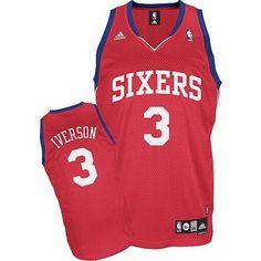 adidas camisetas philadelphia 76ers roja con iverson 3 http://www.camisetascopadomundo2014.com/