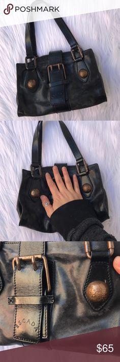 ESCADA LEATHER MINI CLUB EVENING BAG PURSE 👛 Super cute leather bag by ESCADA Escada Bags