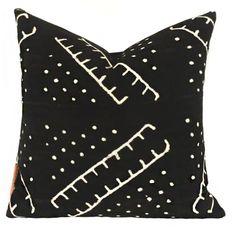 Ladder Accent Pillow - Black