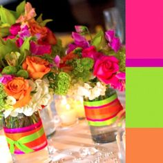 These are my favorite color combos! I hope to one day use in my wedding!