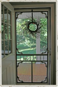 There's just something about an old fashioned screen door....